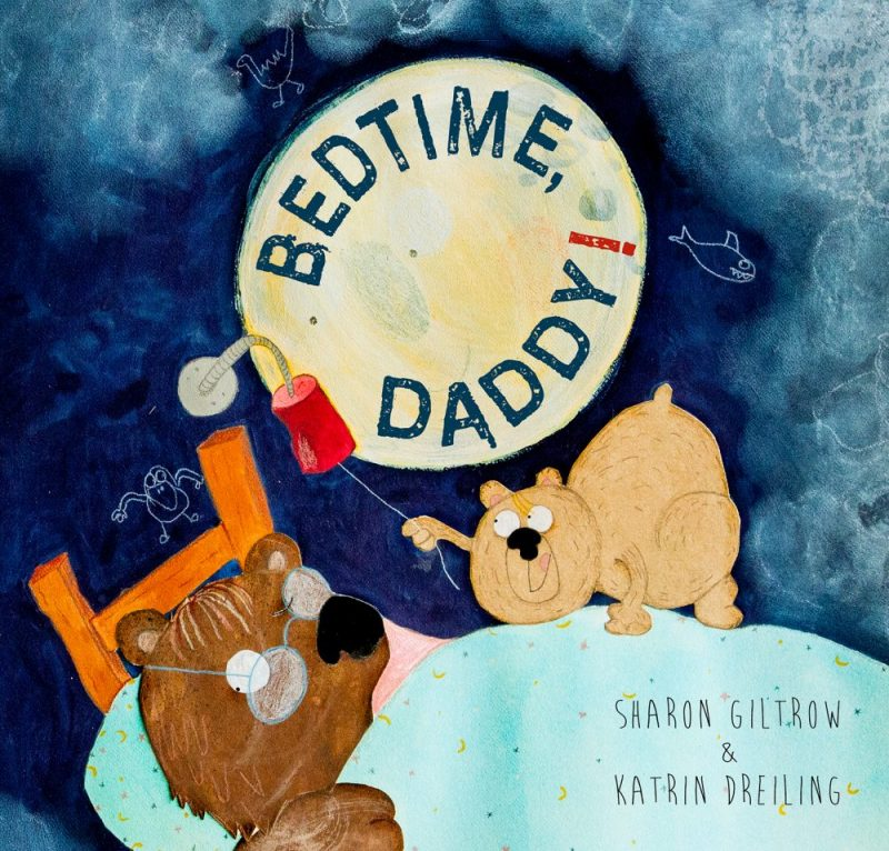 Bedtime Daddy - final cover - Sharon Giltrow