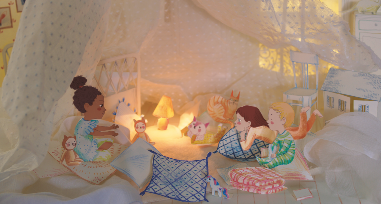 A scene from Pillowland.