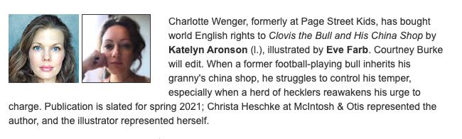 PW Announcement for CLOVIS