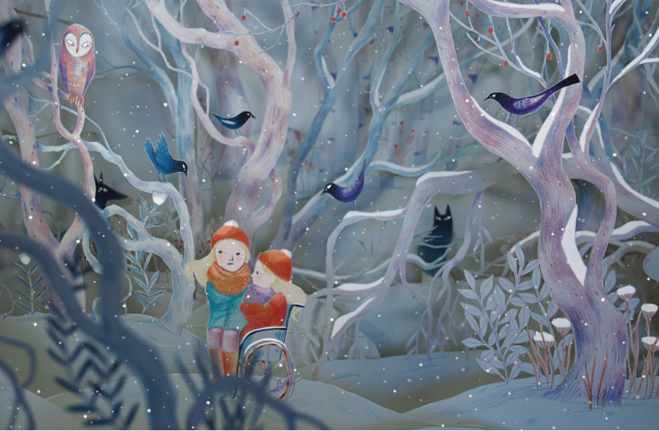 Scene from The Snow Rabbit.